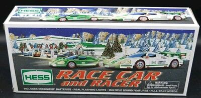 Hess race car and racer set Brand new in box.