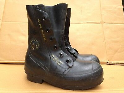 Vintage USGI Bata Black Mickey Mouse Boots Extreme Cold Weather Size 9 Regular