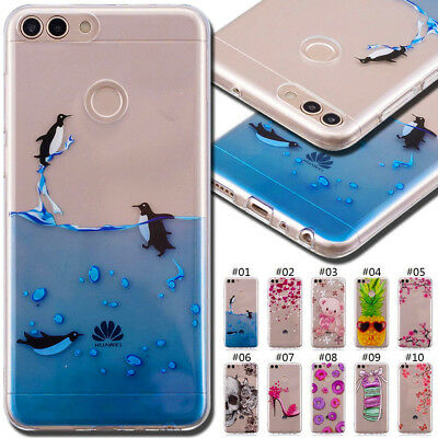 For Huawei Y3 Y5 Y6(2018) Honor 9 Lite 10 TPU Soft Cover Case Silicone Back Skin
