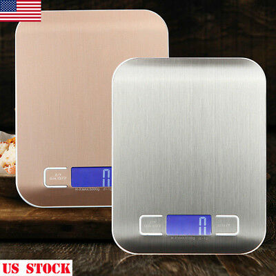 5Kg/1G 3Kg/1G Digital Lcd Electronic Kitchen Scale Food Weighing Postal Scales