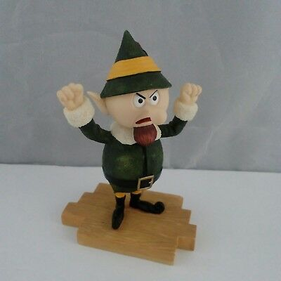Elf Foreman Boss of Elves Figurine Rudolph and the Island of Misfit Toys #104255