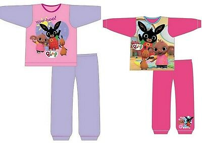 Girls Baby Toddler Children Bing Long Sleeve Pyjamas pjs Age 12 months - 5 Years