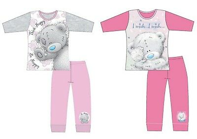Girls Children Teenage Me To You Tatty Teddy Long Sleeve Pyjamas pjs Age 5-12