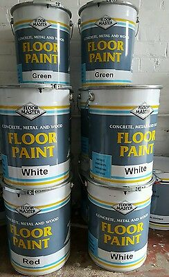 Polyurethane Factory Floor Paint 20L Industrial Garage Paint FREE DELIVERY