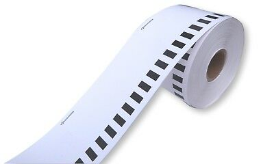 10 x 54mm x 30m NON-ADHESIVE CARD ROLL, BROTHER COMPATABLE  DK-N55224