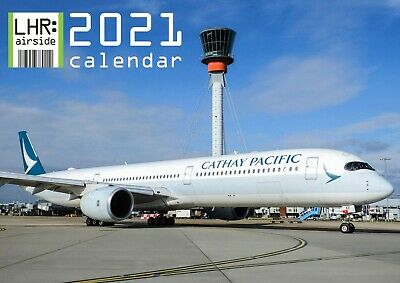 LHR: airside 2019 wall calendar - aviation / airliners / avgeek