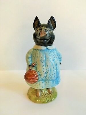Beatrix Potter Figure Beswick Pig-Wig