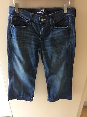 All Mankind Cropped Jeans Size 27