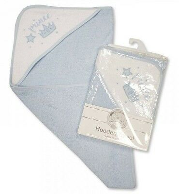 Towel Hooded Output Swim For Baby Blue With Motif Prince