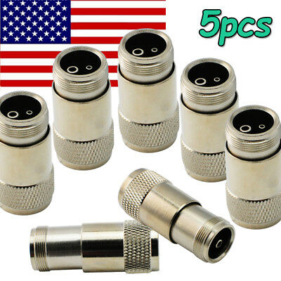5X Dental handpiece tubing adapter connector converter 4 holes to 2 holes M4-B2