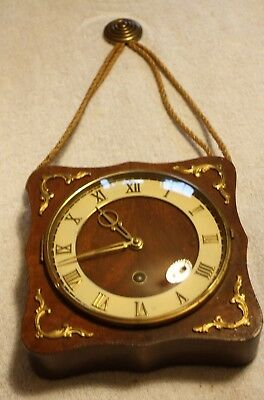 Vintage German Wall Clock made by J Kaiser