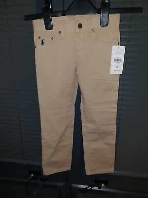 Polo Ralph Lauren Boys Age 4 Quality  Chinos Trousers Pants ONLY £15 WOW Stylish