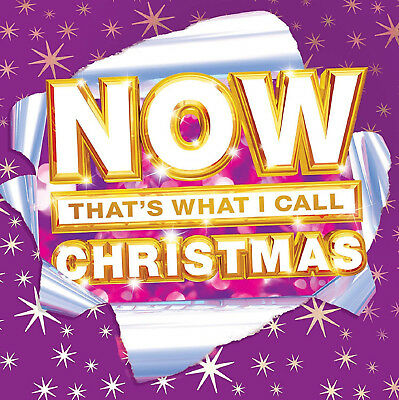 NOW THAT'S WHAT I CALL CHRISTMAS HITS SONGS 63 TRACKS BOX SET Audio Music CD New