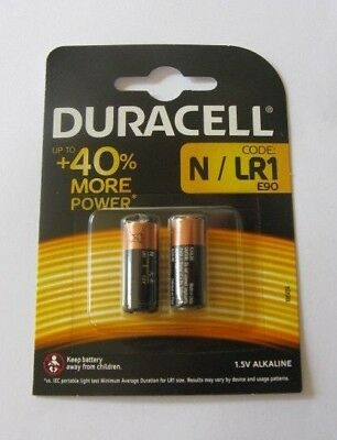 Duracell MN9100 High Power N Security Alkaline 1.5V Batteries - Pack of 2 ~ 2022