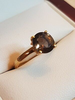 Ladies 18Ct gold Ring with Citrine