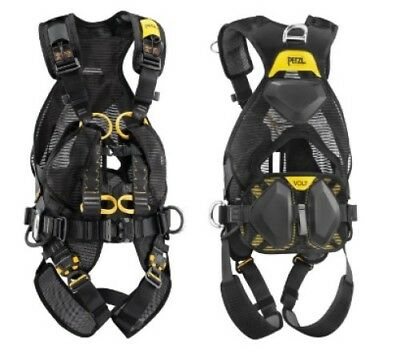 Petzl VOLT WIND Full Body Harness Climbing Fall petzl volt fall arrest 5pt harness c72afa (size 1 & 2) work