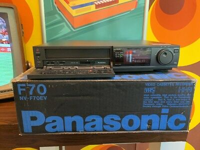 Panasonic NV-F70 HQ Super 4 Head (BOXED)