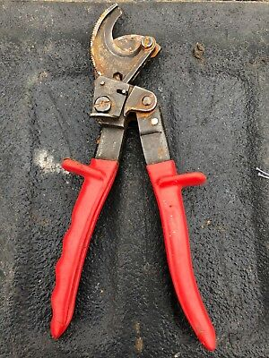 Klein Tools 63060 Ratcheting Cable Cutter Free Shipping Electrical Tool