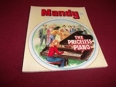 RARE EARLY MANDY PICTURE STORY LIBRARY BOOK from 1980's - never read: ex condit!
