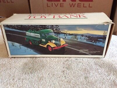 Hess First Hess Truck Toy Bank  NEW IN BOX