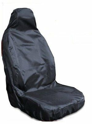 AUDI A4 Convertible - Heavy Duty Black Waterproof Single Seat Cover - 1 x Front