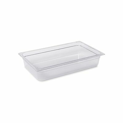 Rubbermaid Commercial Cold Food Pan, Full Size, 13-3/4 Quart, Clear, FG131P00...