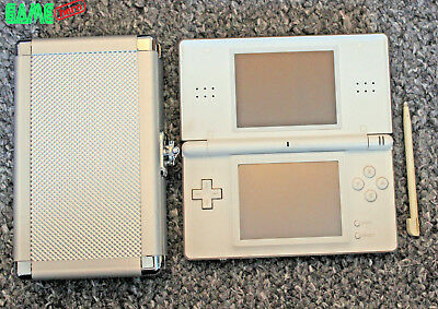 Nintendo Ds Lite Polar White Console System Ds Light *touch Screen Issue!*