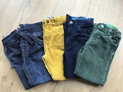 Boys Trousers Bundle 4-5 Years, Little Bird, Mothercare, H&M, Cords, Jeans