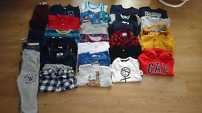Boys clothes bundles 4-5 years hm gap and other