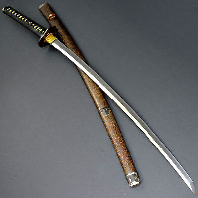 Authentic NIHONTO JAPANESE SAMURAI LONG SWORD KATANA w/KOSHIRAE ANTIQUE
