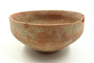 Authentic Ancient Roman Legionary Terracotta Bowl -  L372