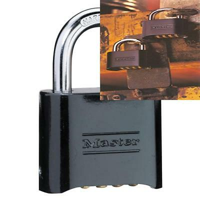 Master Lock 178D Set Your Own Combination Padlock, 2 in. Wide w... FREE SHIPPING