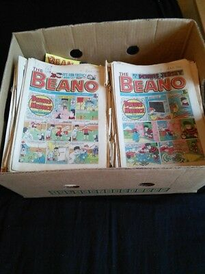 Box of over 300 Beanos  Mid 80's to early 90's