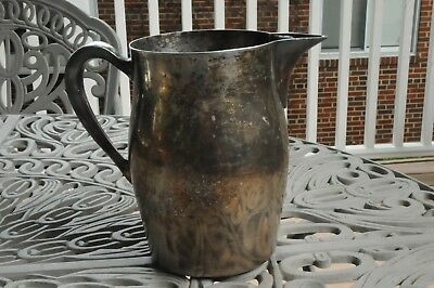 Vintage Academy Silver on Copper Pitcher #15