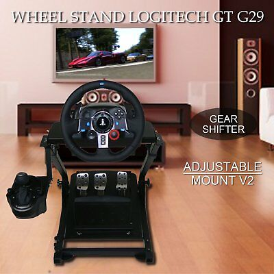 GT ART Racing Simulator Steering Wheel Stand for G27 G29 PS4 G920 T300RS T150 AU