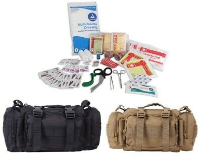 Fast Access Trauma Kit Emergency Military Style First Aid Convertipack Rothco
