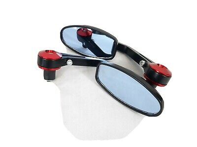 New Jp Pair Of Mobility Disability Scooter Mirrors - Universal Handlebar