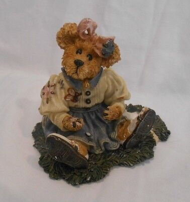"""Boyds Bears & Friends ~ The Bearstone Collection, """"Love means never wining a gam"""
