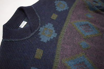 Yves Saint Laurent Pullover Pulli Sweater Hipster Sweatshirt Polo Vintage YSL XL