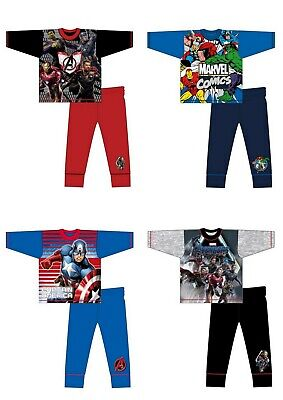 Boys Kids Children Avengers Hulk Long Sleeve Pyjamas pjs set Age 4-10 years