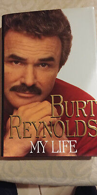 Burt Reynolds Autographed in person, My Life biography