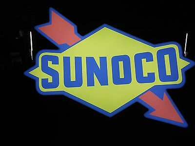 Sunoco Lighted Sign
