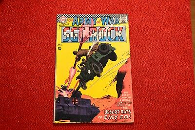 """PRICE DROP!!  Our Army at War - #182 - 1967 """"Desert Rats of Easy""""!!"""