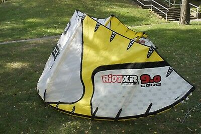 CORE Riot XR 9m kite mit ESP Bar