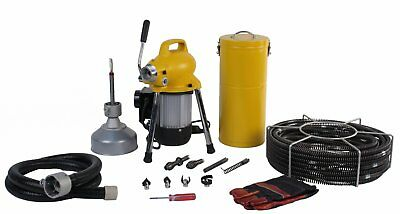 Steel Dragon Tools® K50 Drain Cleaning Machine fits RIDGID® Snake Sewer C8 Cable