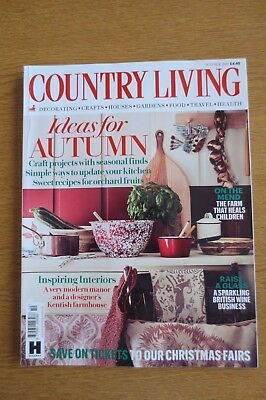 Country Living Magazine October 2018