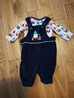 Little Bird Newborn New Baby Gnome Dungarees and Vest