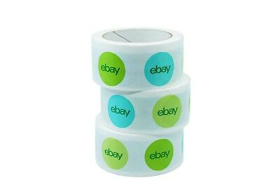 "Limited Edition 2"" x 75 yard Holiday eBay-Branded Packaging Tape"