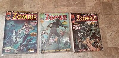 Marvel Magazine Tales Of The Zombie Lot