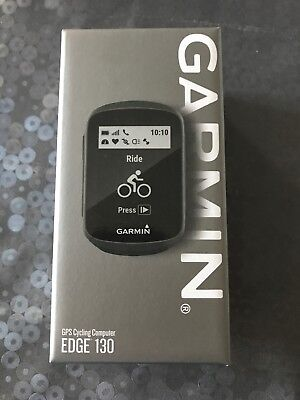Garmin Edge 130 GPS Cycling Computer Water Resistant new boxed